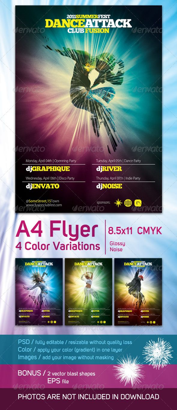 50 Best Flyer Print Templates Images On Pinterest