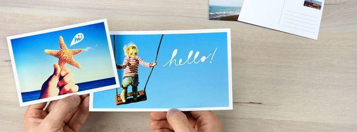 Carte postale personnalisée avec photo - posterXXL