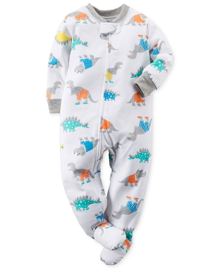 Carter's Baby Boys' Dino Coverall - Kids Baby Boy (0-24 months) - Macy's