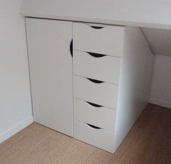 Site dédié aux meubles sur mesure en soupente