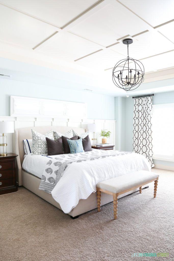Spring Master Bedroom Home Decor Bedroom Blue Bedroom Decor