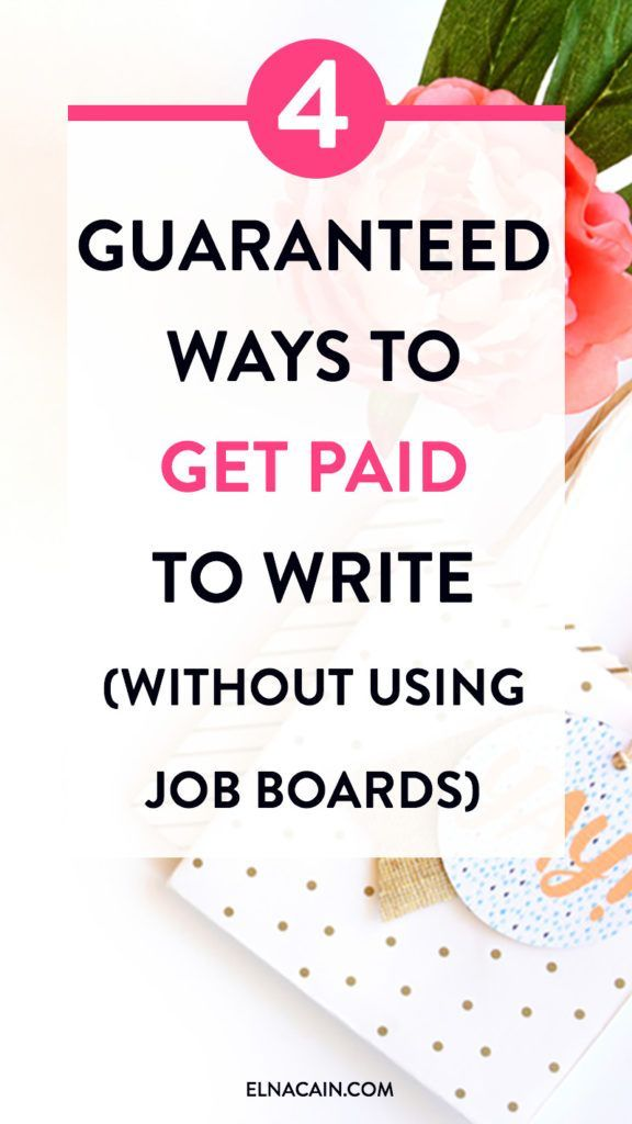 4 Guaranteed Ways to Get Paid to Write (Without Using Job Boards) – Are you not having luck finding freelance writing work on job boards? It can be tough, but did you know there are other ways to get paid to write? Here are four of them.