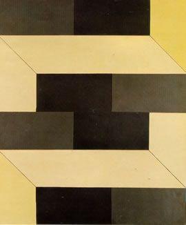 LYGIA CLARK – ANÁLISE  Plano em superfícies moduladas nº 2 1956 Tinta industrial s/ celotex, madeira e nulac,  90,1 x 75,0 cm.  Doação MAM-SP. Acervo MAC-USP