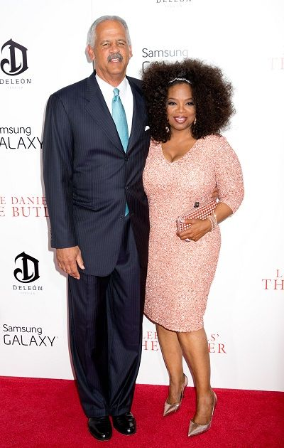 Oprah and Stedman Graham at NY Premiere of 'The Butler' Photo Gallery