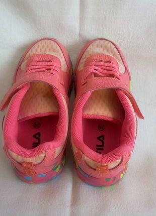 Kaufe meinen Artikel bei #Mamikreisel http://www.mamikreisel.de/kleidung-fur-madchen/sneakers/31356662-coole-fila-sneakers-gr-28-pinkbunt-absolut-leicht