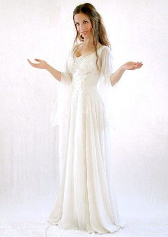 Celtic Wedding Theme   Celtic/Fantasy wedding gowns - g8.jpg