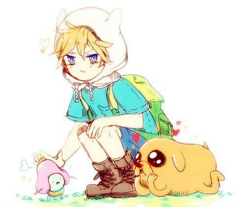 Cute king, finn and jake