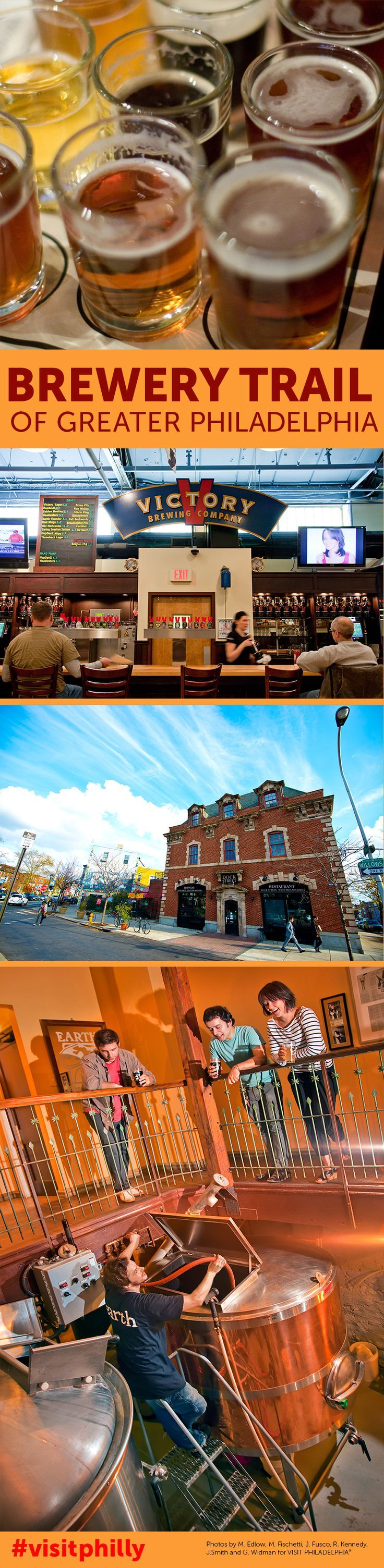 See why the Philadelphia region is one of the best places for beer in the world.