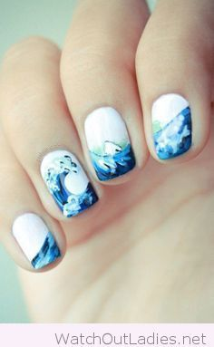 7249 best tribal nail art images on pinterest nail designs make white and blue nail art design tribal nail designseasy prinsesfo Gallery