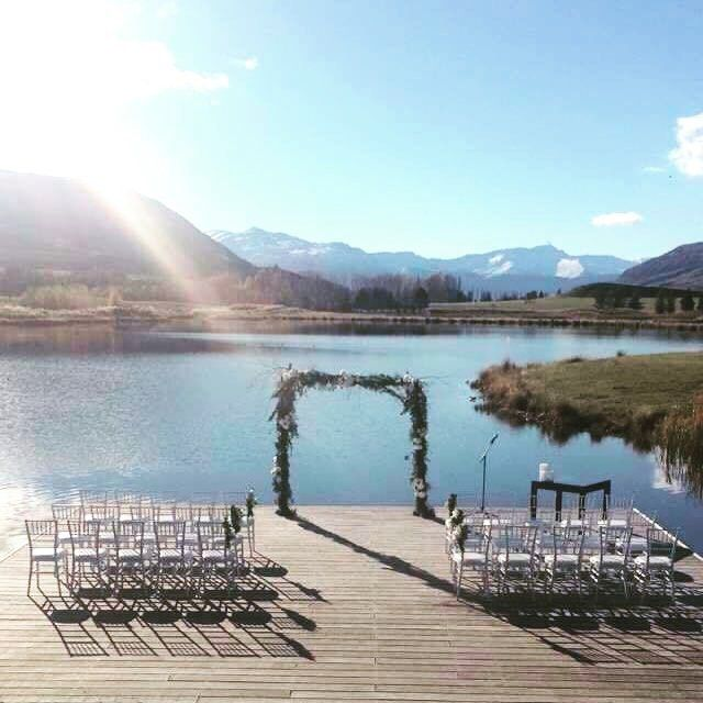 Sweet view, sweet tunes. Miki's view for Friday's wedding ceremony.  #ceremony #canapes #acoustic #alllive  _______________________________________________________  Enjoying our pics? ❤️ Like, follow and comment! ❤️ Tell us what you want to see more of. _______________________________________________________  Book us at our website : lasocial.co.nz  Follow our Facebook : lasocialclub   #weddingband #weddingmusic #queenstownnz #weddingbandqueenstown #queenstownweddings #wanakaweddings