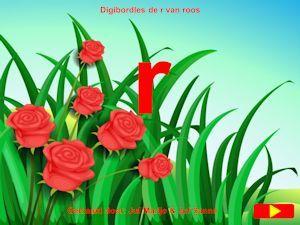De r van roos digibordklankles