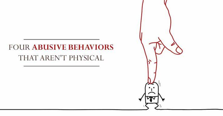 Four Abusive Behaviors That Aren