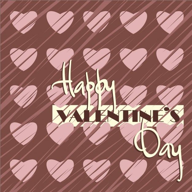 Free vector Happy valentine's day card #30507