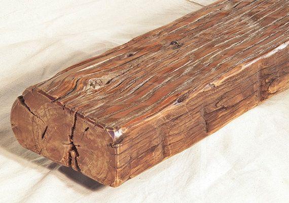 Fireplace Mantel Mantle Rustic Reclaimed Oak Farm by oacfurniture, $350.00