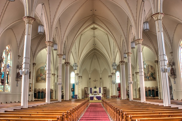 St. Cyril & Methodius (Altar) in Milwaukee. Is also St. Maximilian Kolbe Parish.