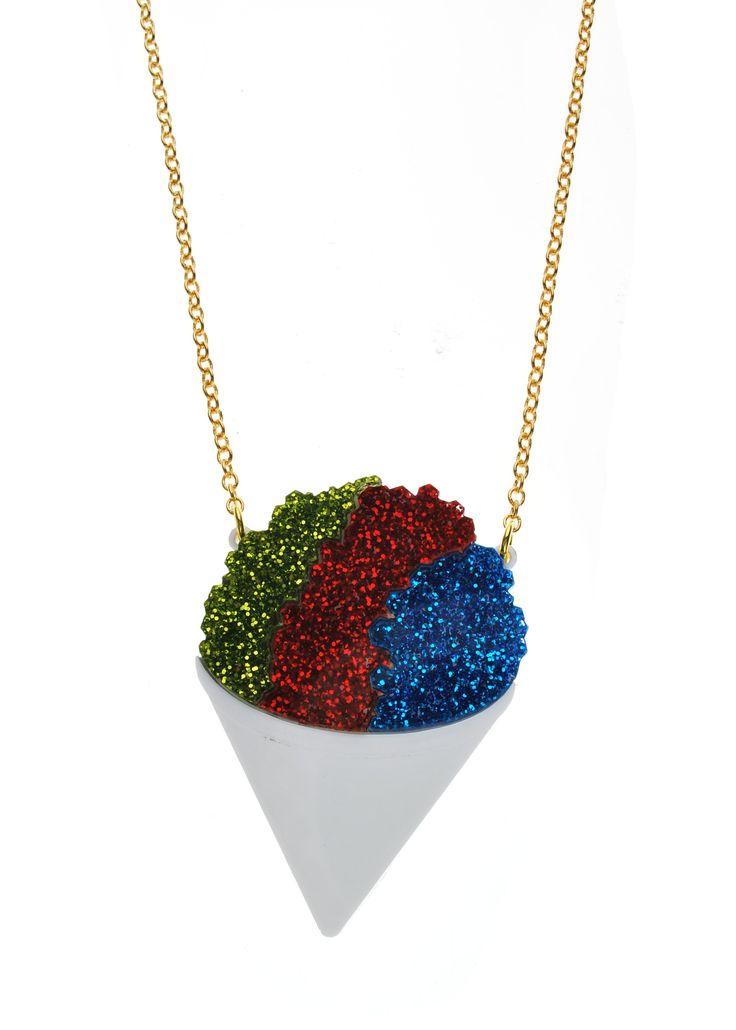 Snow Cone Necklace