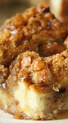 The Best Bread Pudding dessert.  Try making with Jimmy John's Day Old Bread
