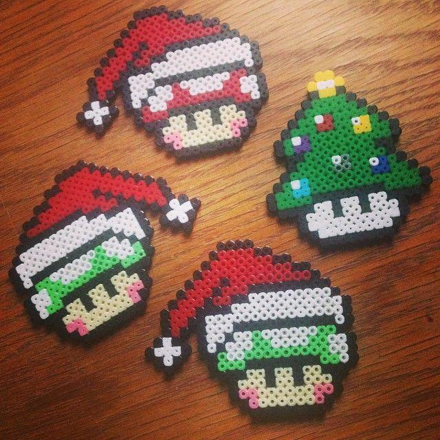 Navidad Setas