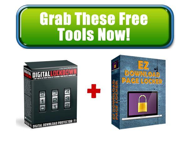 FREE: Digital Lock Down Software (MRR)  EZ Download Page Locker Script Alluneed2succeed.net