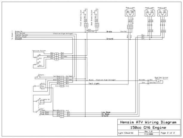 Basic Wiring Diagram Chinese Electric Start And Cool Sports Atv Wiring Harness Engineer Wiring Diagram In 2020 Quad Diagram Atv