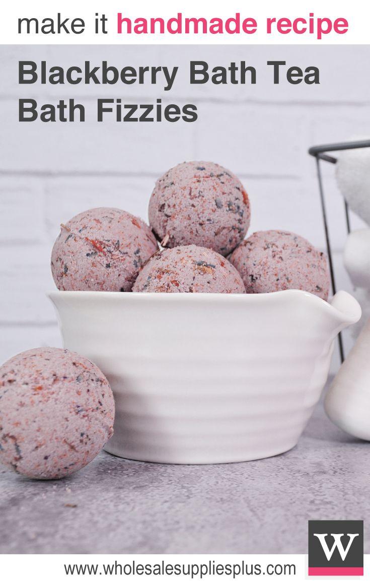 Blackberry Bath Tea Bath Fizzies, Free Recipe, Handmade Bath Fizzies, Handmade Bath Bombs, Superflower Teas, Free Handmade Bath Bomb Recipe