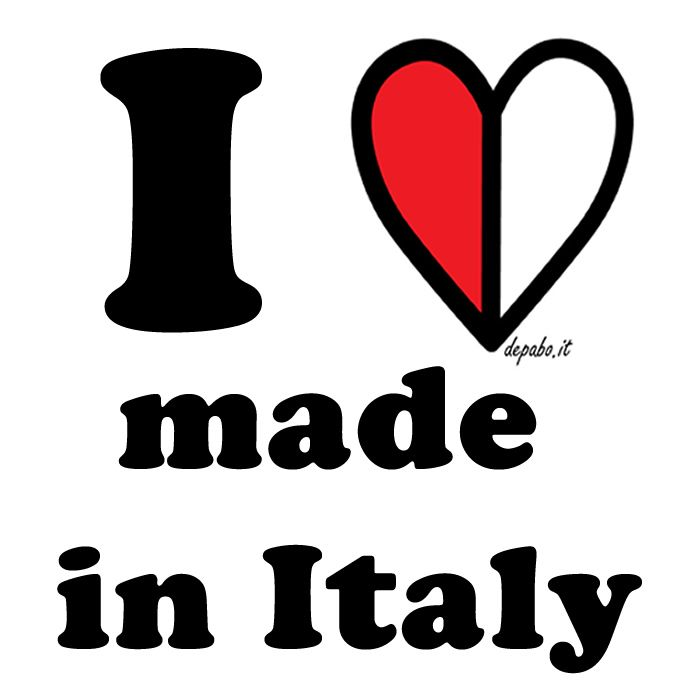 I love made in Italy!