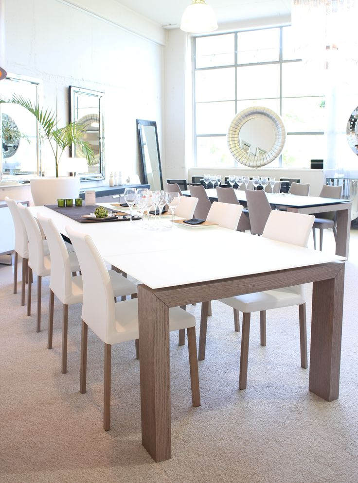 Aliante Dining Table Made in Italy by Antonello Italia. Available at Sarsfield Brooke