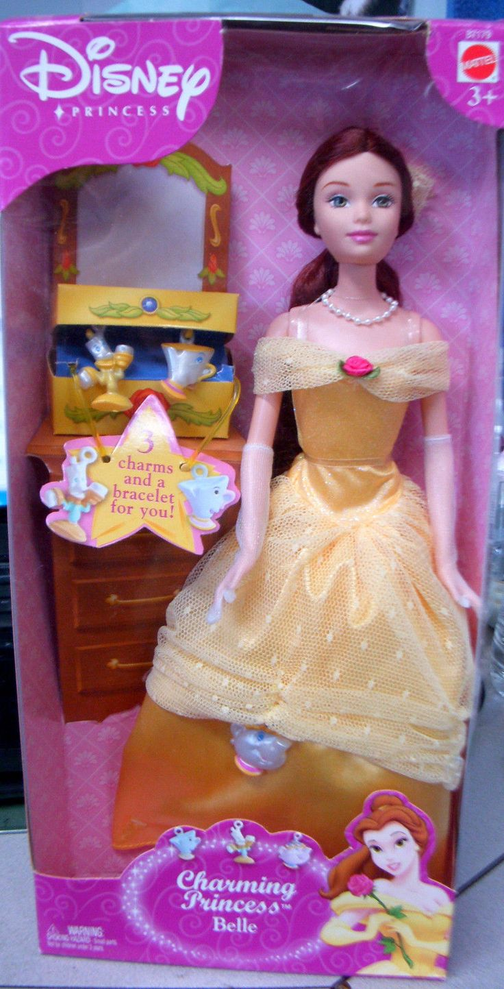 Find great deals on ebay for barbie hair extensions doll barbie light - Mattel Disney Princess Doll Charming Princess Belle Beauty The Beast New