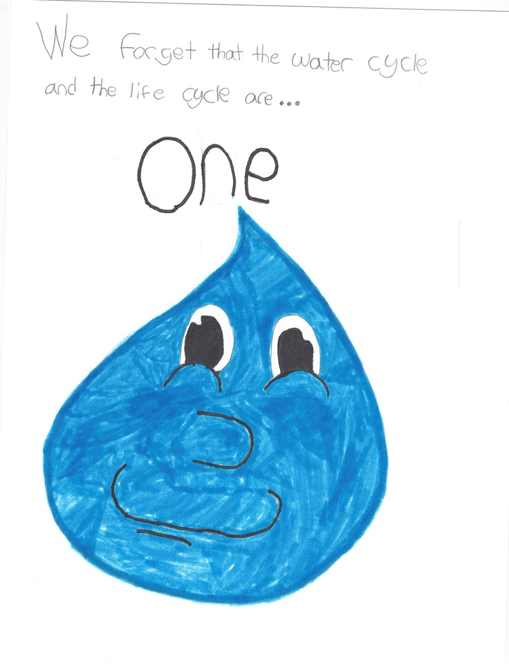"""""""We forget that the water cycle and the life cycle are...ONE."""""""