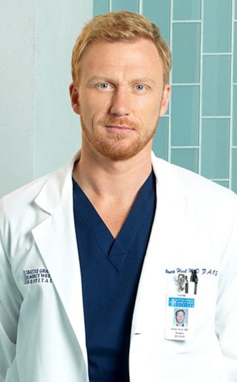 Kevin McKidd as Dr.Owen Hunt in Grey's Anatomy...hottest ginger around!
