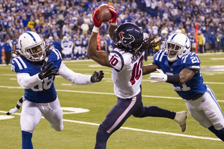 PHOTOS:    JOHN MCCLAIN'S GUIDE TO TEXANS/COLTS TEXANS RECEIVER DEANDRE HOPKINS VS. COLTS CORNERBACK VONTAE DAVIS