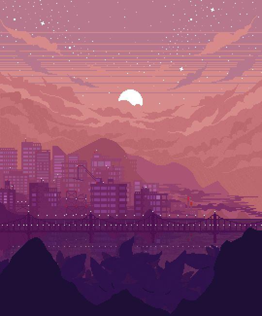 Пиксель арт гифы