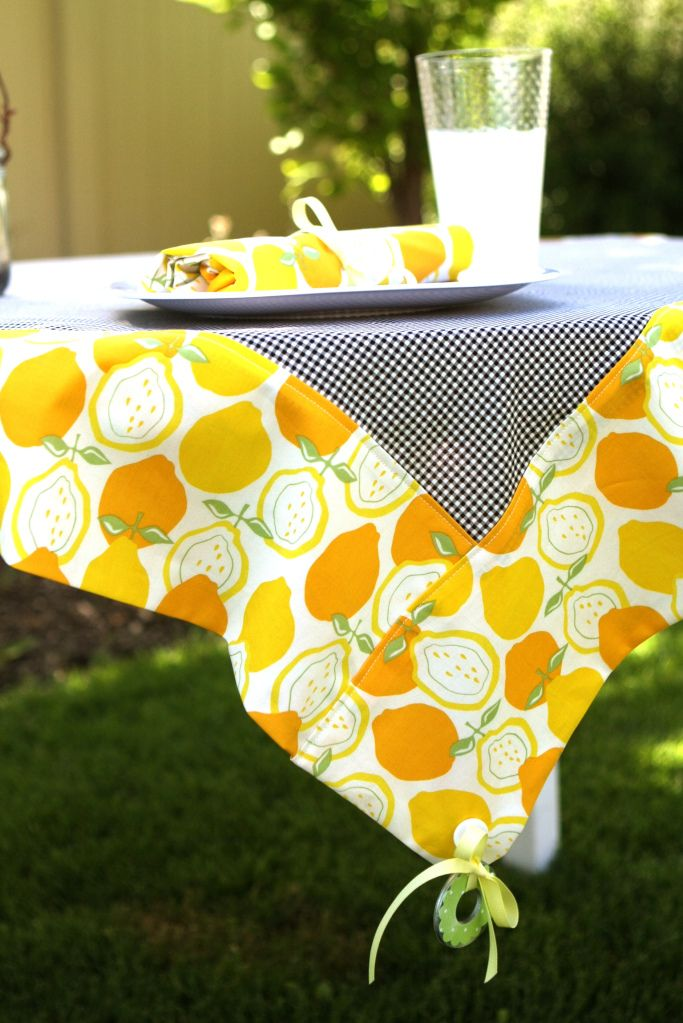 Keep Your Picnic Tablecloth Weighed Down By Attaching Washers To The  Corners With This DIY.