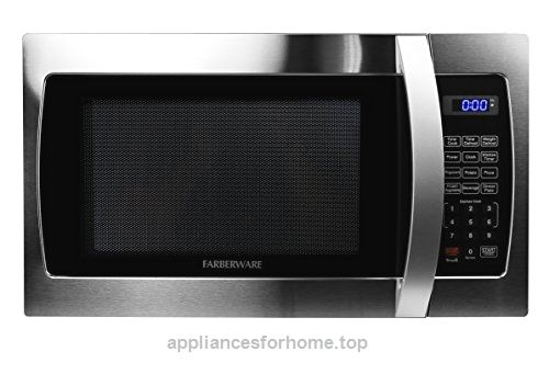 Farberware Professional FMO13AHTBKE 1.3 Cubic Foot 1000-Watt Microwave Oven, Stainless Steel  Check It Out Now     $129.99    The Farberware Professional Microwave delivers power, style and convenience with a sleek, stainless steel design to  ..  http://www.appliancesforhome.top/2017/03/17/farberware-professional-fmo13ahtbke-1-3-cubic-foot-1000-watt-microwave-oven-stainless-steel/