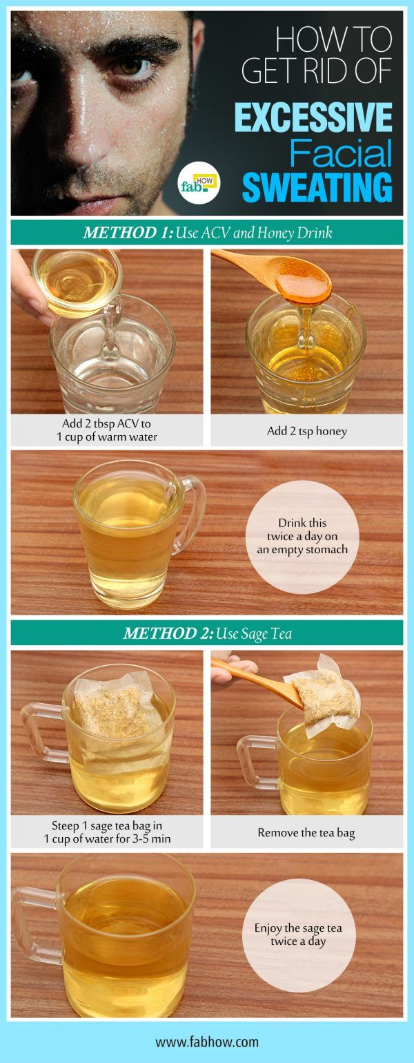 Stop Facial Sweating with These 2 Natural Remedies