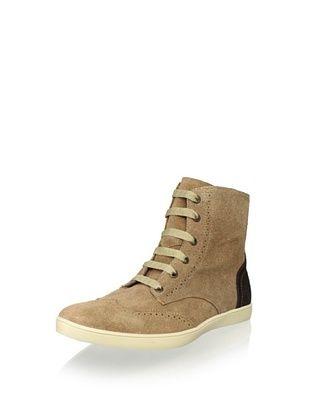 JD Fisk Men's Grant Sneaker (Camel Suede)