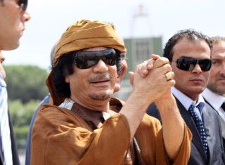 Net Worth: $200 Billion  I know you have heard this name (Gaddafi Stadium wink wink). The deceased Libyan Ruler ruled over the African country for a humungous 42-years. His mere mention is a source of argument, and he remains one of the most divisive politicians in all of history. not pinners comment