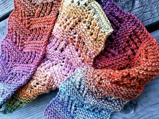 134 Best Knitted Scarves Images On Pinterest Knit Patterns