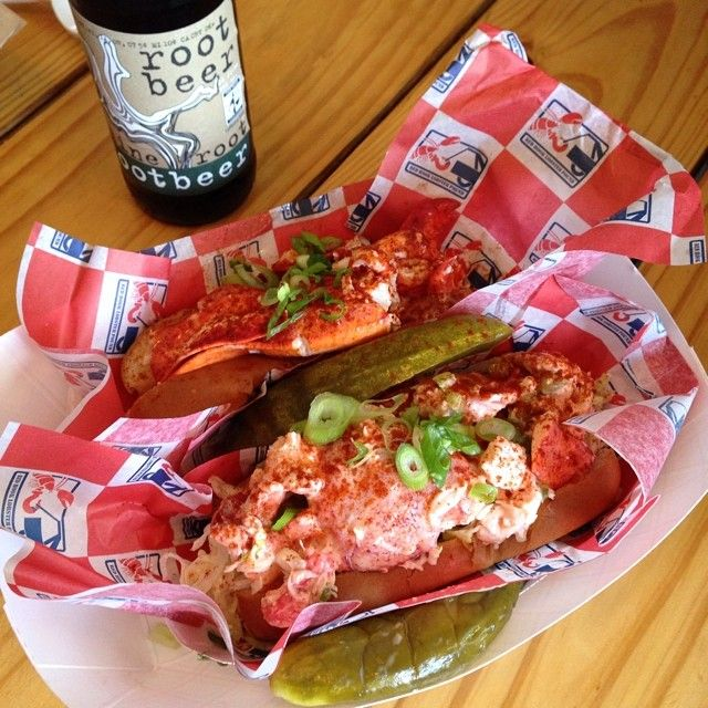 @JaneSoph. Red Hook. Lobster Pound. Brooklyn, NY