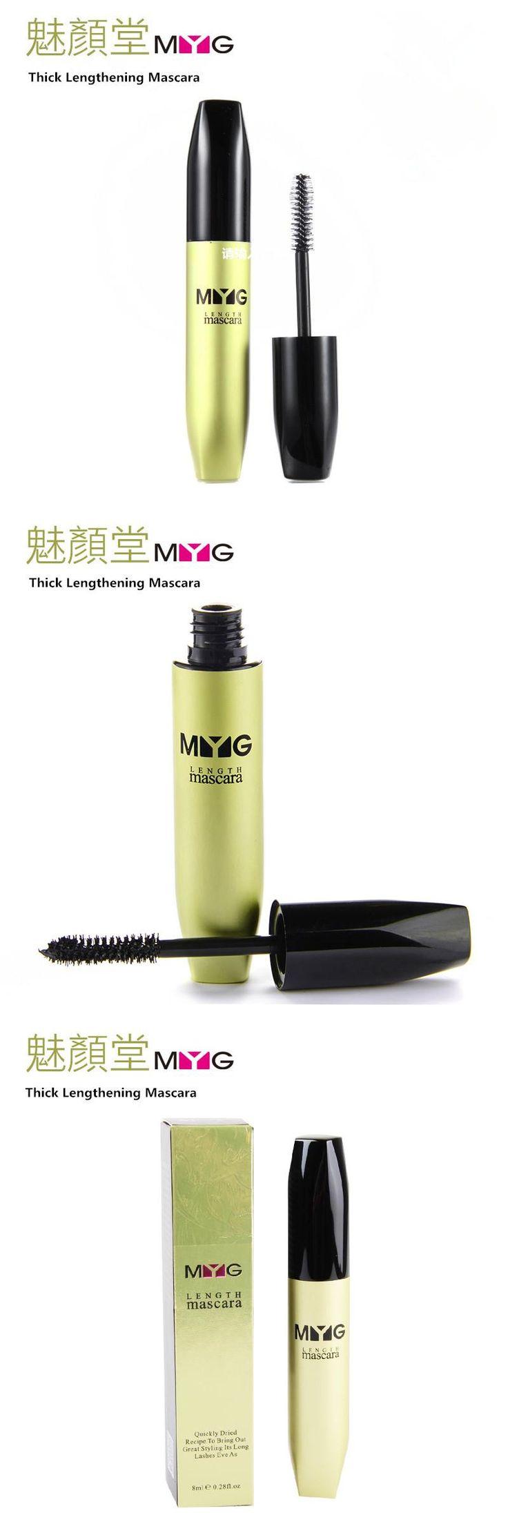 [Visit to Buy] The brand MYG eyebrow mascara , eyebrow enhancer cosmetics colossal mascaras  3d fiber mascara waterproof  lengthening make up #Advertisement