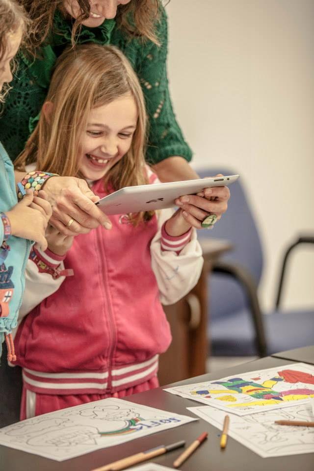 Chromville World, creative education through Augmented Reality