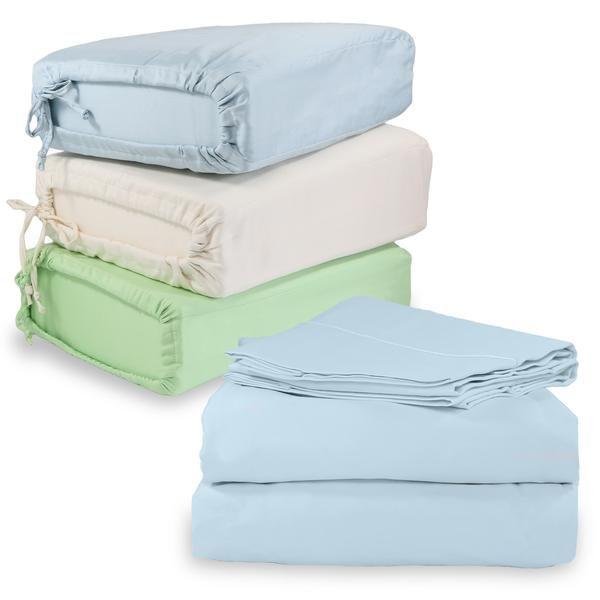 100% Organic Cotton Bed Sheet Set. Whisper Organics. $65-$99.