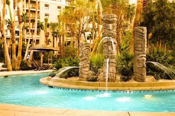 Tahiti Village Resort Pool and Lazy River, Las Vegas . Tina I know why you picked this place:P LOL I am very excited for JOsh & I to spend time with you guys for 4 days! Could Thursday come any sooner!
