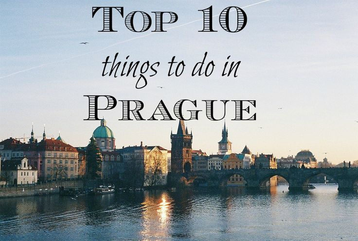 Top Ten Things to do in Prague. If you get the chance to travel to Europe then this amazing city should be a must!