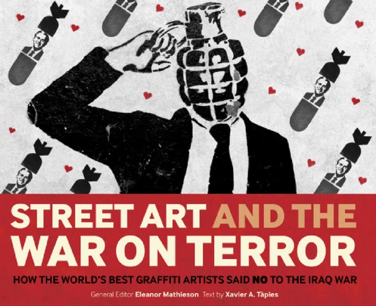 A very nice book on street art and the opinions on the war on terror.
