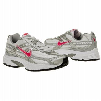 Athletics Nike Women's Initiator Wide White/ Cherry Wide FamousFootwear.com