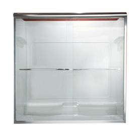 shower doorsbronze american standard euro 40in to 44in w x 655in h