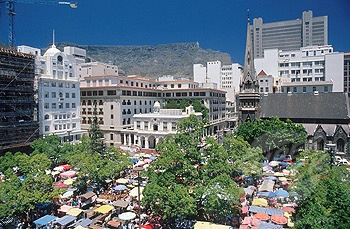 Love green market square market  Cape town