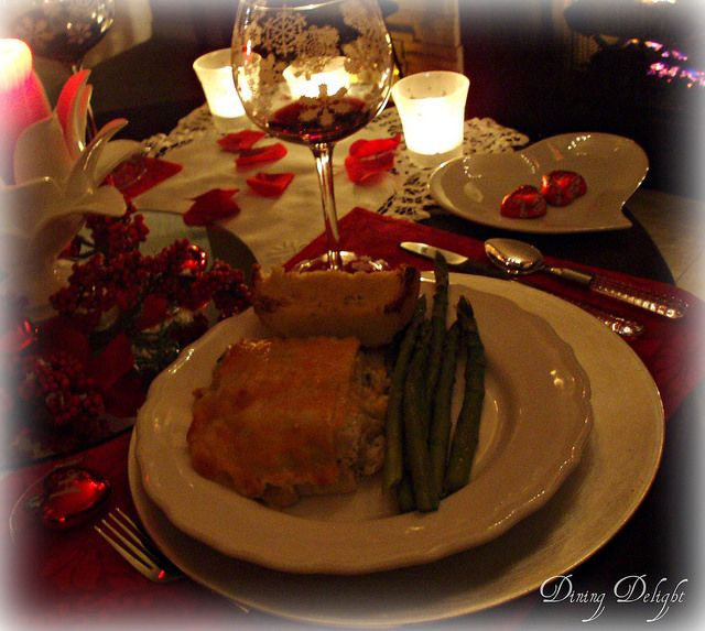 46 best images about valentines dining table decor on for Best valentines day meals