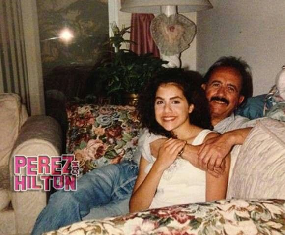 Brittany Murphy with her Father Angelo Bertolotti.